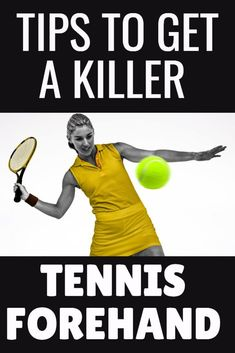 If you are just learning how to play tennis then these tennis forehand tips are crucial to get a consistent stroke.  Keep this beginners guide to tennis forehands to help you during tennis practice and before your next tennis match.