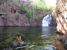 "Parques naturales en ""El territorio del Norte"",Litchfield National Park. Australia."