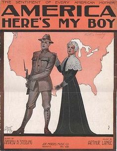 June 5, 1917: Conscription began for World War I. All males aged 21 to 30 were required to register -- later, it was changed to ages 18 to 45.