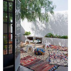 """""""Moroccan rug love  #moroccanrugs #colour #love"""""""