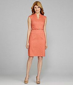4f05c090c98 Antonio Melani Nasira Cap-Sleeve Belted Dress at Dillards. Antonio Melani
