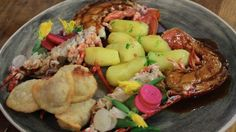 Claude Bosi's 'Singapore style' lobster