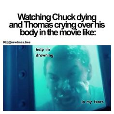 I was so happy that they did that scene justice!! Like there were three things going into this movie that had to be worthy - the grievers, Newt, and Chuck's death. Check, check, and check