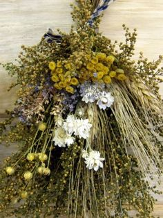 Dried Everlasting Bulk Flower Packages from The Flower Patch Sweet Annie