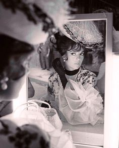 """Natalie Wood"""" A perfect reflection  The Great Race"""" (1965)"""
