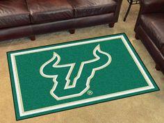 University of South Florida 4x6 Rug
