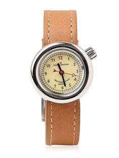 Manometrino Polished Steel Watch on shopstyle.com
