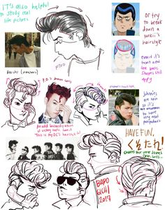 "Drawing Tutorial ""how i draw regents! my layout is all over the place whoops i hope this is still helpful"" - ""how i draw regents! my layout is all over the place whoops i hope this is still helpful"" Hair Reference, Art Reference Poses, Drawing Reference, Drawing Techniques, Drawing Tutorials, Art Tutorials, Painting Tutorials, Drawing Poses, Drawing Tips"