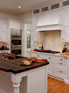 Explore your options and find new ideas from these pictures of kitchen islands both large and small, in materials ranging from wood and tile to stainless steel.