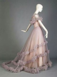 Dior Wedding Gown 1955