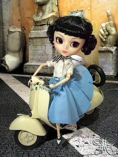 Princess Ann from Roman Holiday Pullip! I love that movie... I need this doll!!!