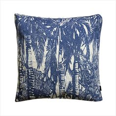 Hana Palms Cushion by Ourlieu Flax Plant, Road To Hana, Coastal Style, Cushion Covers, Palms, Cushions, Throw Pillows, Decorating, Living Room