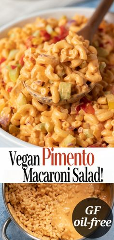 Vegan Pimento Macaroni Salad