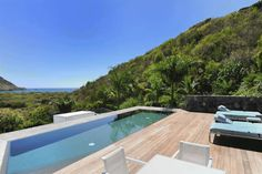 Exclusive is a word that shouldn't be used lightly, but when discussing Villa Dunes on St Barts set in the nature reserve of Salines, exclusive is almost the only term that fits. Tropical Landscaping, Tropical Garden, St Barts, Most Beautiful Beaches, Turquoise Water, Terrace Garden, Maine House, Luxury Villa, Dune