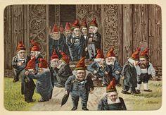 Kjendiser og politikere anno 1895 by National Library of Norway, via Flickr