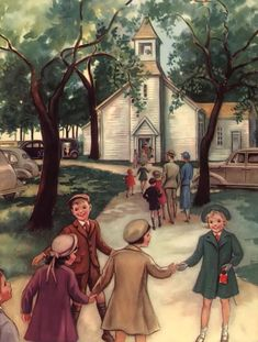 Going to Church use to be a cultural thing for families all over the country.