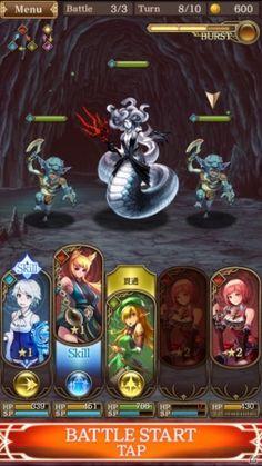 シリコンスタジオ、王道ファンタジーRPG「グランスフィア~宿命の王女と竜の騎士~」を発表!Android向けクローズドβテストもスタート|Gamer