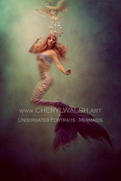 Ariel Mermaid, Mermaid Art, Underwater Art, Mermaid Pictures, Fantasy Pictures, Merfolk, Wedding Night, Mythical Creatures, Cheryl
