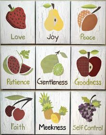 Low Country Living: Fruit of the Spirit Art