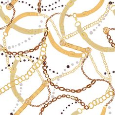 View Golden Belt, Ropes and Chains Trendy Pattern Geometric Design by Gülşen Günel. Available in Vector, Seamless Repeat Royalty-Free. Golden belt, ropes and Golden Belt, Elephant Tapestry, Baroque Pattern, Scarf Design, High Society, Rope Chain, Geometric Designs, Scarfs, Textile Design