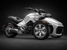 2015 Can-Am Spyder F3 in Pearl White