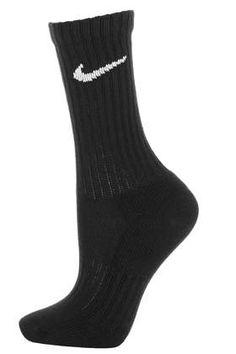 Pack of Three Black Nike Socks - Ankle Socks - Tights & Socks - Clothing
