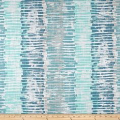 Premier Prints Palisade Fountain - Discount Designer Fabric - Fabric.com Teal Kitchen, Kitchen Colors, Chair Fabric, Curtain Fabric, Wall Fabric, Kitchen Valances, Premier Prints, Gray Valance, Valance Curtains