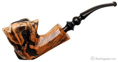 Nording Fantasy Partially Rusticated Freehand (5) Pipes at Smoking Pipes .com