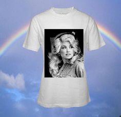 Dolly Parton Custom T-shirt, print screen T-shirt, Awesome T-shirt for Men, Size S -- 5XL