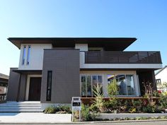xevoΣ - Google 検索 Modern Properties, Japanese House, Modern Exterior, House Front, Midcentury Modern, Future House, House Design, Mansions, House Styles
