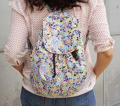 Tutorial: DIY, mochila para el día a día