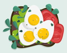 Illustration Art Drawing, Simple Illustration, Graphic Design Illustration, Digital Illustration, Pinterest Instagram, Ideas Geniales, Food Drawing, Environmental Art, Art Journal Inspiration