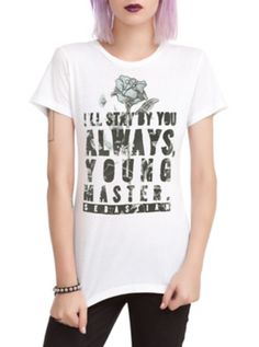 Black Butler Stay By You Girls T-Shirt