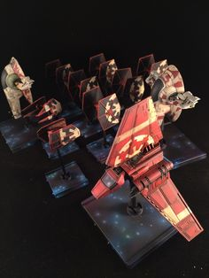 The imperial remnant fleet #ffg #fantasyflight #fantasyflightgames #starwars # xwingrepaints #BFG #lambashuttle  #xwing