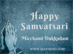 @BlogBing wishes you Happy Samvatsari  :) #MichamiDukkadam #Happy_Blogging