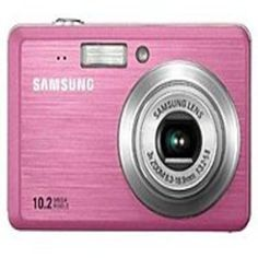 Samsung EC-SL102PBP SL102 10.2 Megapixels Digital Camera - 3x Optical Zoom/3x Digital Zoom - 2.5-inch LCD Display - MultiMedia/SD - Pink - Digital Cameras - Cameras & Photo - Browse Categories