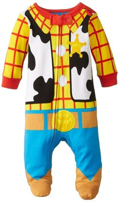 Disney Baby-Boys Newborn Toy Story Costume One Piece Blanket Sleeper Multi
