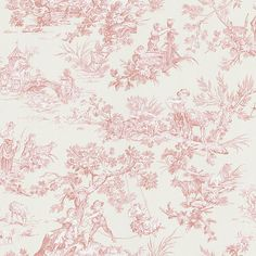 My dream closet needs to have pink toile wallpaper where my little one and I can make up stories about all vignettes.  #matildajaneclothing #MJCdreamcloset