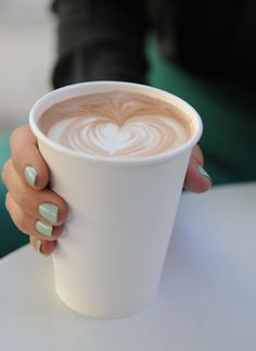 mint nails + a soy latte Coffee Cafe, My Coffee, Coffee Shop, Coffee Lovers, Black Coffee, Mint Nails, Green Nails, Pastel Nails, Brunch