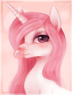Aaahh...Pink unicorn!