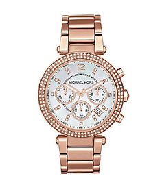 """Michael Kors Rose Gold """"Parker"""".., the watch i want"""
