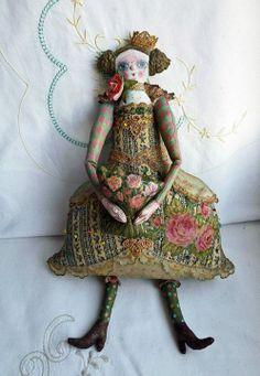 Ольга Март /Olga Mart/--embellished doll love it!