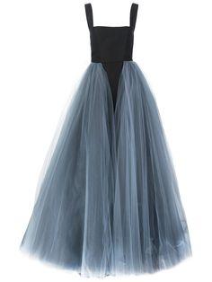 Christian Siriano layered tule gown