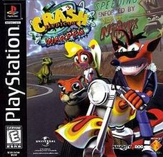 The third game of the Crash Bandicoot Saga. This is my favourite of the three games.