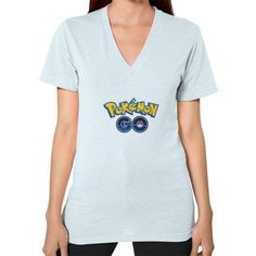 Pokemon GO V-Neck (on woman) Shirt