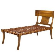 Chaise Longue by T.H. Robsjohn-Gibbings for Saridis of Athens