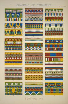I would love this print on my wall. From the NYPL Digital Gallery. Collection: The grammar of ornament / Owen Jones