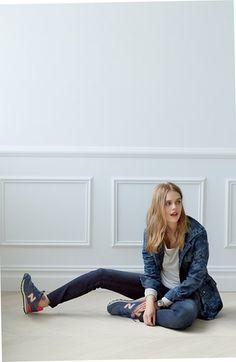 Fall Fashion | Treasure & Bond jacket and skinny jeans.