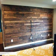 Reclaimed Wood Ideas - hackLAB