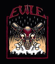 Evile Illustration design by Nemons